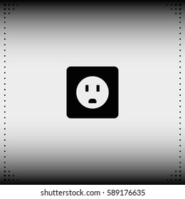 Power socket icon.