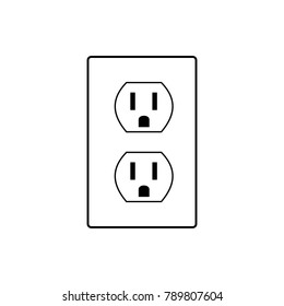 power socket symbol