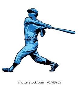 Powerful Baseball Hitter Right handed