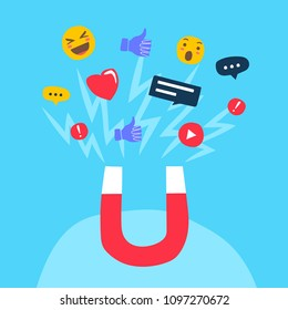 The powerful of influencer marketing is like the magnetic field that drags customer like icon into the business