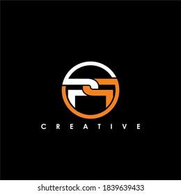 PP Letter Initial Logo Design Template Vector Illustration