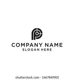 pp logo / p logo