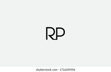 PR or RP letter logo. Unique attractive creative modern initial PR RP P R initial based letter icon logo