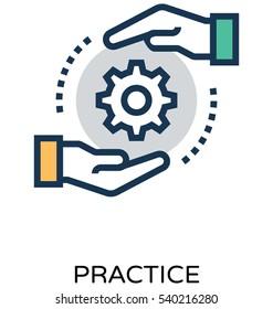 Practice Vector Icon