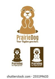 Prairie Dog is a fun and original logo template representing prairie dog coming out of hiding. Available in color, black and usable for multiple businesses, brands, shops, studios, etc.