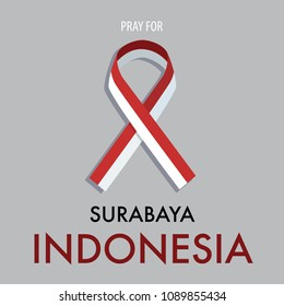Pray for Surabaya Indonesia. A city attacked by a terrorist bomb