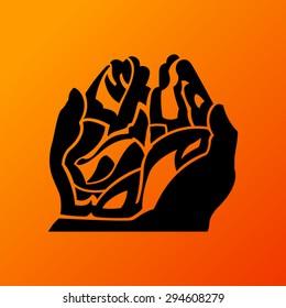 Praying Hand Ramadan