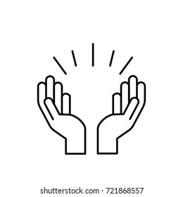 praying hands icon images stock photos vectors shutterstock