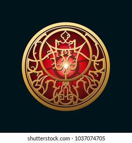 Precious magic amulet