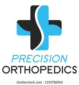 """""""Precision Orthopedics"""" Medical Orthopedical Logo"""