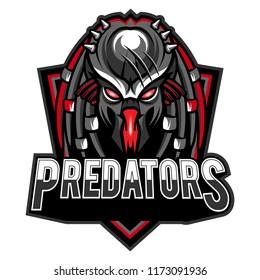 Predators Sport Logo Vector Template