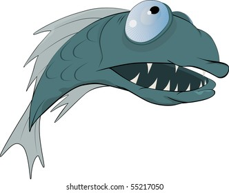Predatory fish from a fairy tale