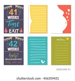 picture relating to Printable Pregnancy Journals referred to as Being pregnant Magazine Visuals, Inventory Pictures Vectors Shutterstock