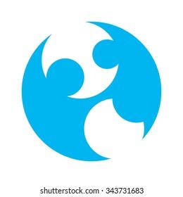 pregnant logo vector.