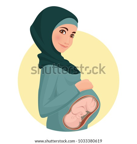 MUSLIM PREGNANT MOM AND d&period