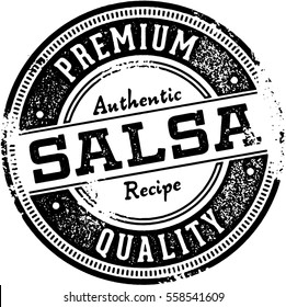 Premium Authentic Salsa Sign