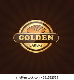 Premium Bakery Label Logo Vector