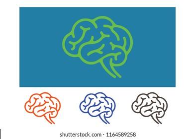 Premium Brain Logo Design