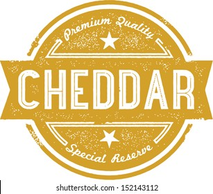 Premium Cheddar Cheese Label