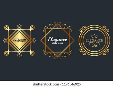 premium and elegance set frames