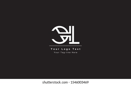 Premium Initial Letter CL logo design. Trendy awesome artistic black and white color CL LC initial based Alphabet icon logo