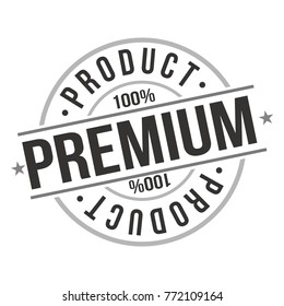 Premium Product Approved Certified Quality Original Stamp Design Vector Round Art