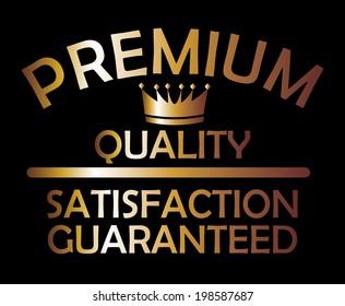 Premium quality golden style vector art