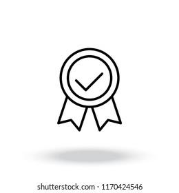 Premium Quality Label Line Icon