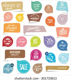 Premium, quality modern labels collection