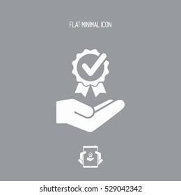 Premium services - Vector flat icon