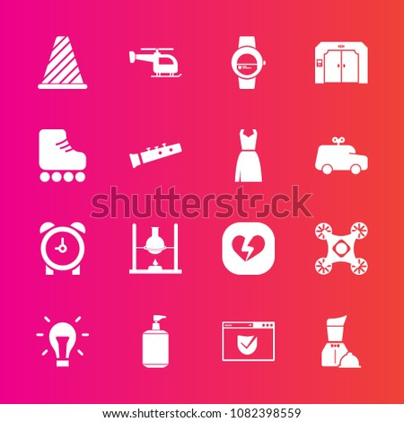 new products 32e7a 98069 Premium Set Fill Vector Icons Such Stock Vector (Royalty ...