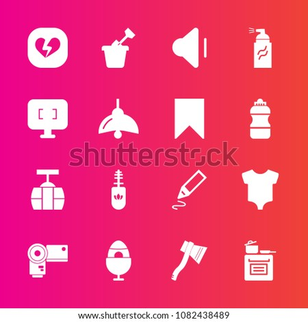 7068a7ddd Premium Set Fill Vector Icons Such Stock Vector (Royalty Free ...