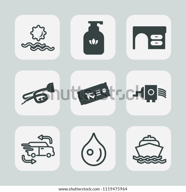 Premium Set Outline Fill Icons Such Stock Vector (Royalty ... on glass door design outline, interior design outline, kitchen design outline,