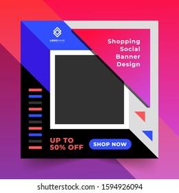 Premium Social Media Banner Design  Template