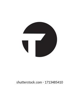 Premium Vector T Letter Logo.Beautiful Minimalist Logotype design for branding,Elegant identity design.