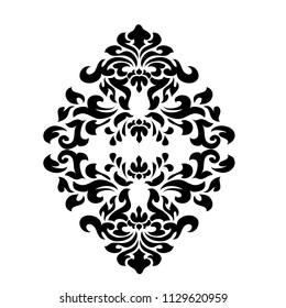 Premium vintage baroque frame scroll ornament engraving border floral retro pattern antique style acanthus foliage swirl decorative design element filigree calligraphy - vector.