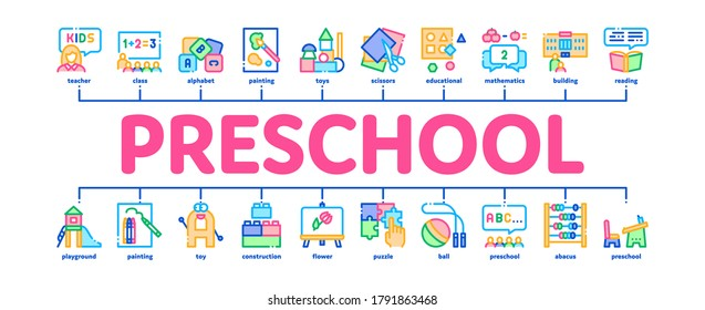 Preschool Banner Images Stock Photos Vectors Shutterstock