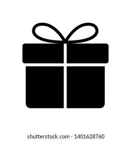 present - gift icon vector design template