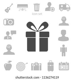 Present icon vector illustration