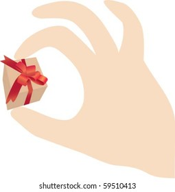 Present in your hand
