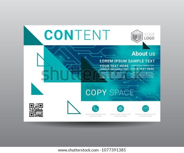 Presentation Layout Design Template Flyer Design Royalty