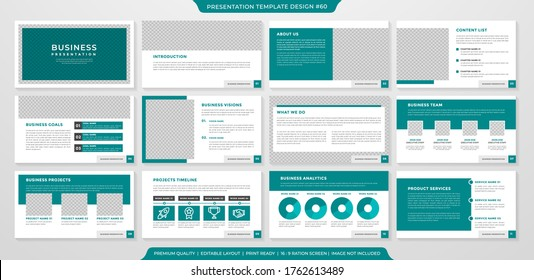 Minimalist Powerpoint Template Images Stock Photos Vectors Shutterstock