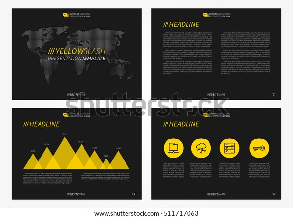 Presentation Powerpoint Vector Template Infographic Elements
