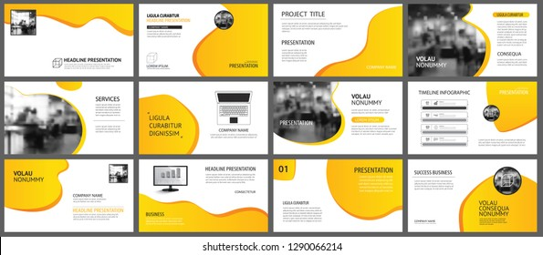 6313943bd72c92 Presentation and slide layout background. Design yellow and orange gradient  template. Use for business