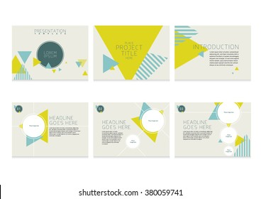Presentation slides template design/ Brochure cover and page layout template/ Business card and stationery design Abstract background pattern/ Web banner design/Brochure cover and inner pages design