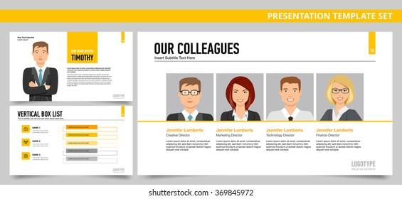 Presentation template set 20