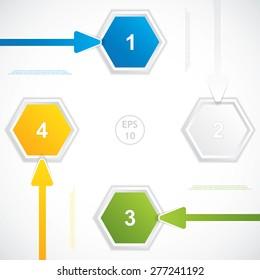 Presentation Template.Vector illustration.