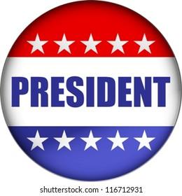 president badge eps10