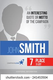 Campaign Poster Images, Stock Photos & Vectors | Shutterstock
