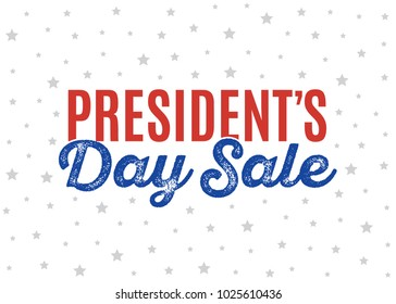 President's Dale Sale Shop Sign Text Icon Vector Illustration Background for shop, e-commerce, web, business, flyers, and posters